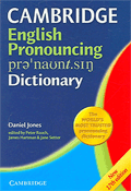 cover of the Cambridge English Pronouncing Dictionary