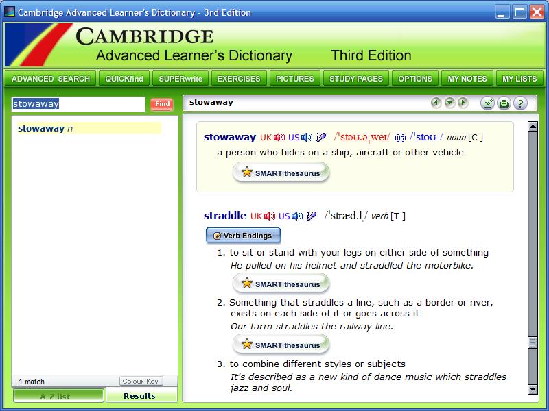 cambridge dictionary polish