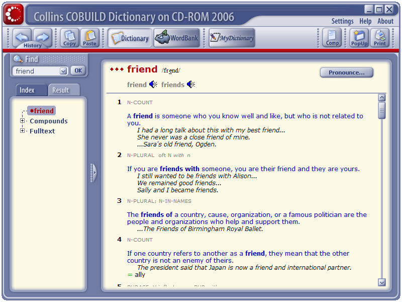 collins advanced english dictionary